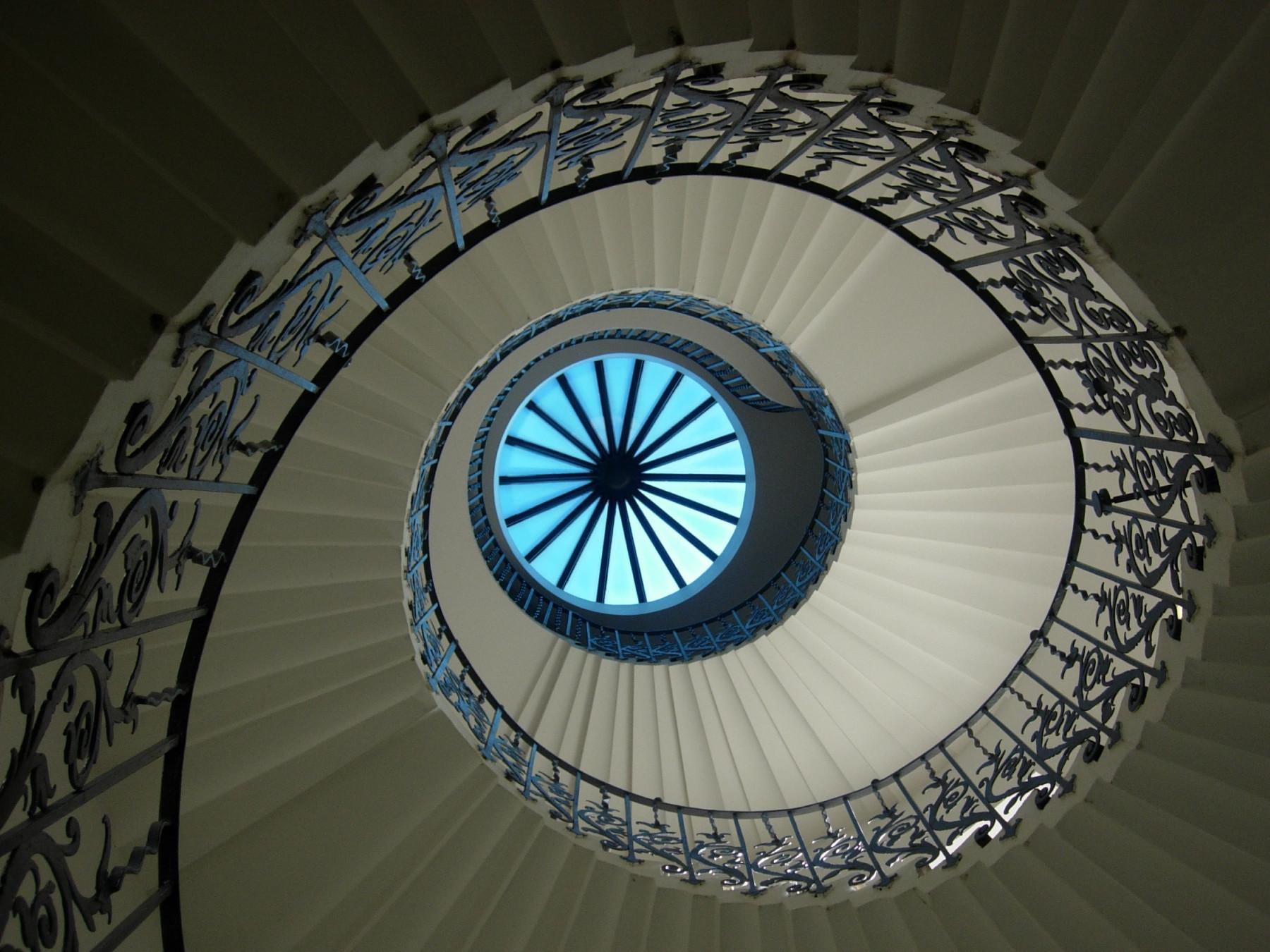 Vai mesmo querer subir (ou descer) estas escadas?