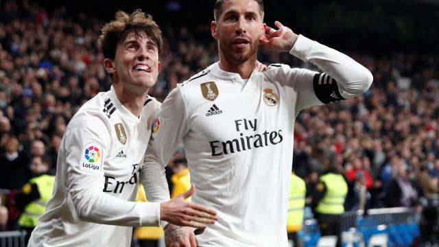 Real Madrid deixou o melhor para o fim e já vê as 'meias' da Taça do Rei