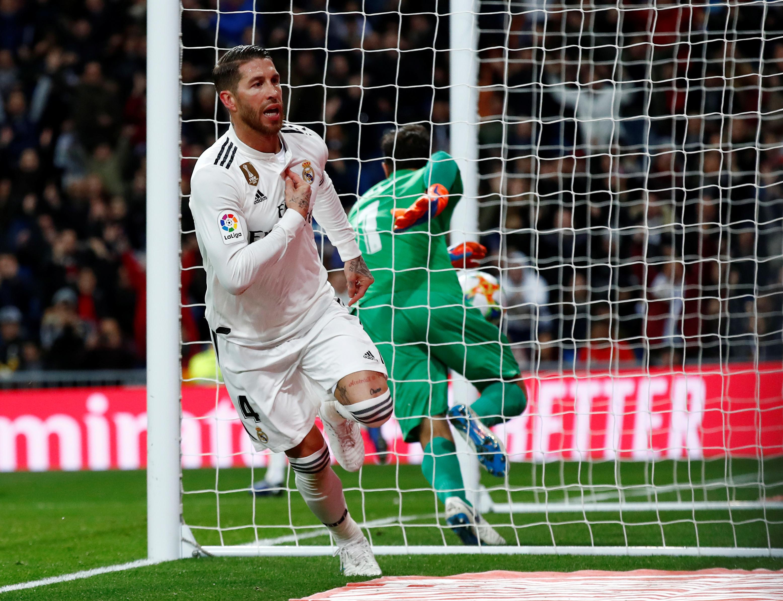 Sergio Ramos marca golo na vitória do Real e festeja à… Ronaldo?