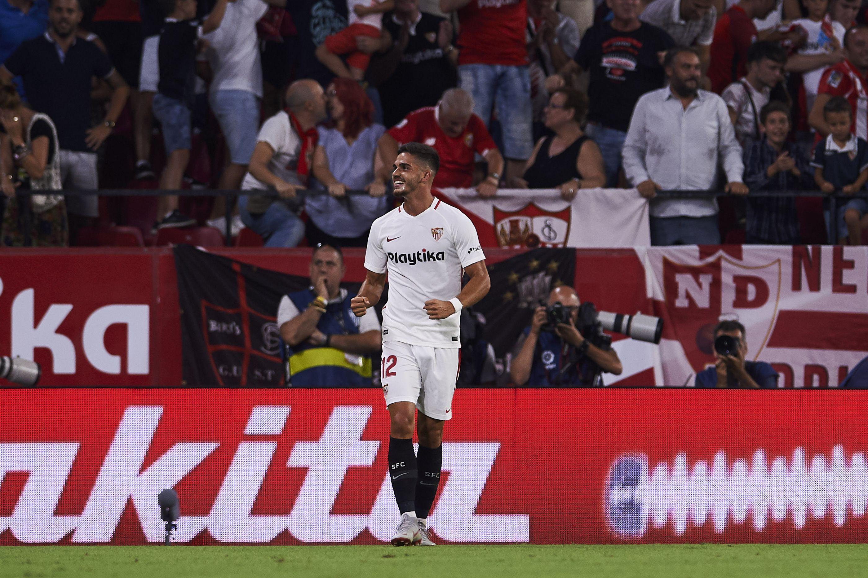 'Apagão' de André Silva no Sevilla faz 'estremecer' AC Milan