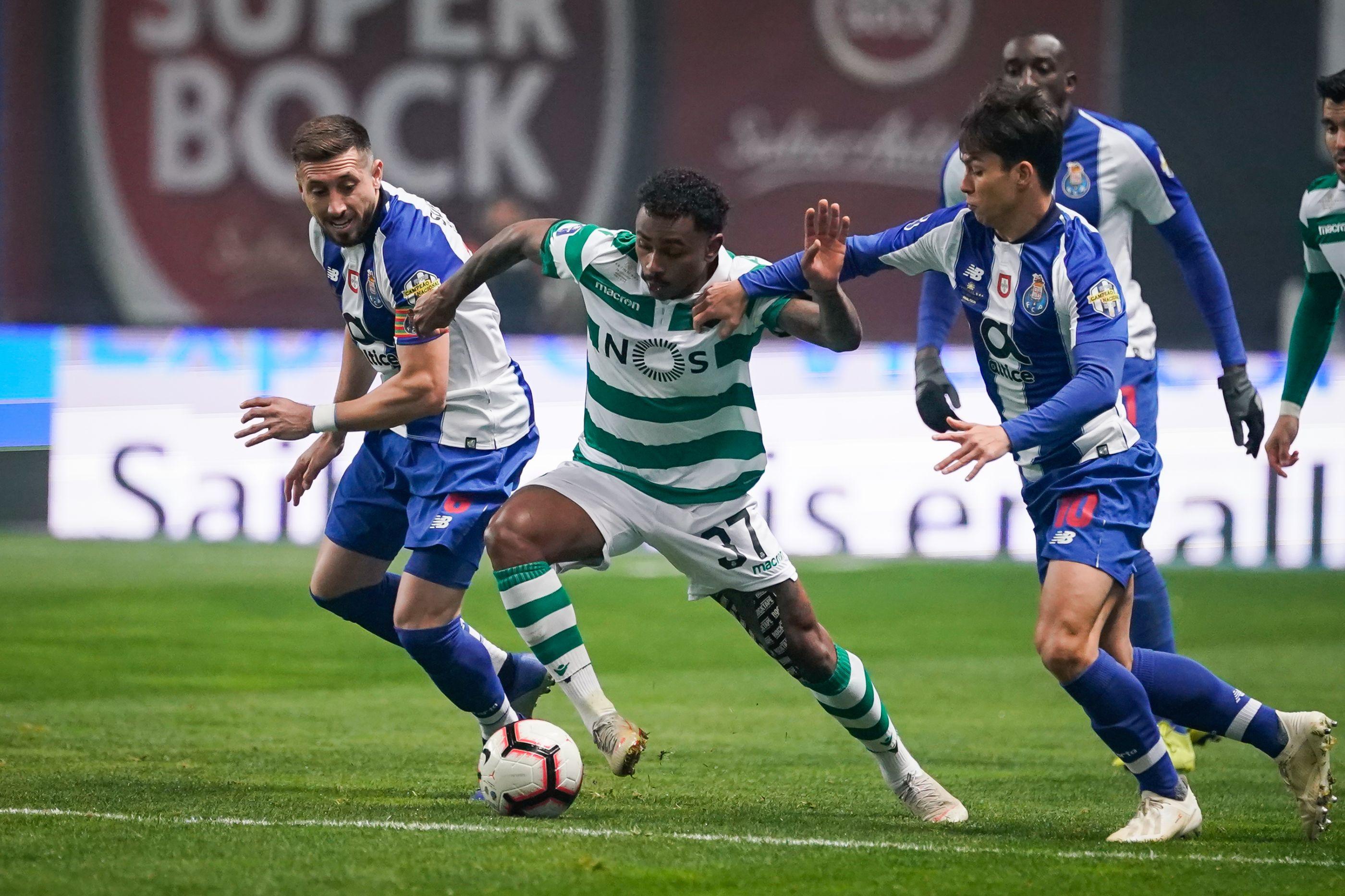[0-0] Intervalo no FC Porto-Sporting: Nulo mantém-se