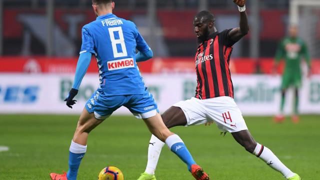 AC Milan dá 'prenda antecipada' á Juve de CR7. Já cheira a octacampeonato