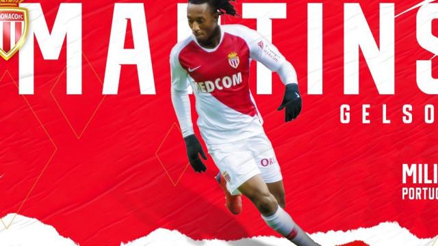 Oficial: Gelson reforça o Monaco