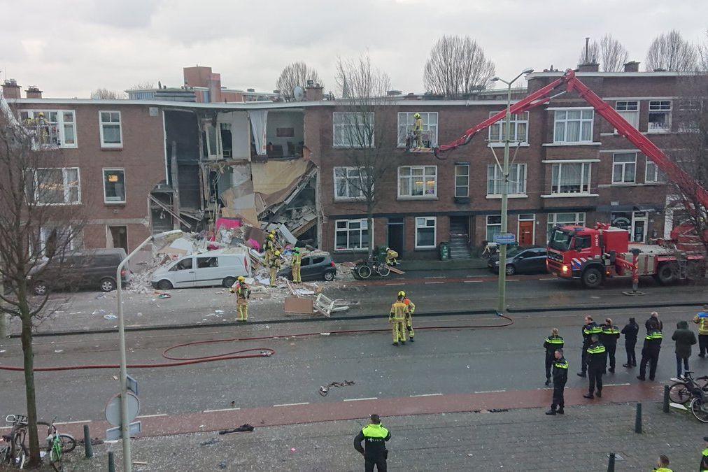 Várias pessoas presas nos escombros após explosão em prédio em Haia