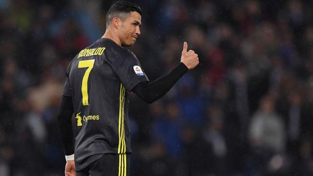 Juventus é quem impera em Roma às costas de CR7 e Cancelo