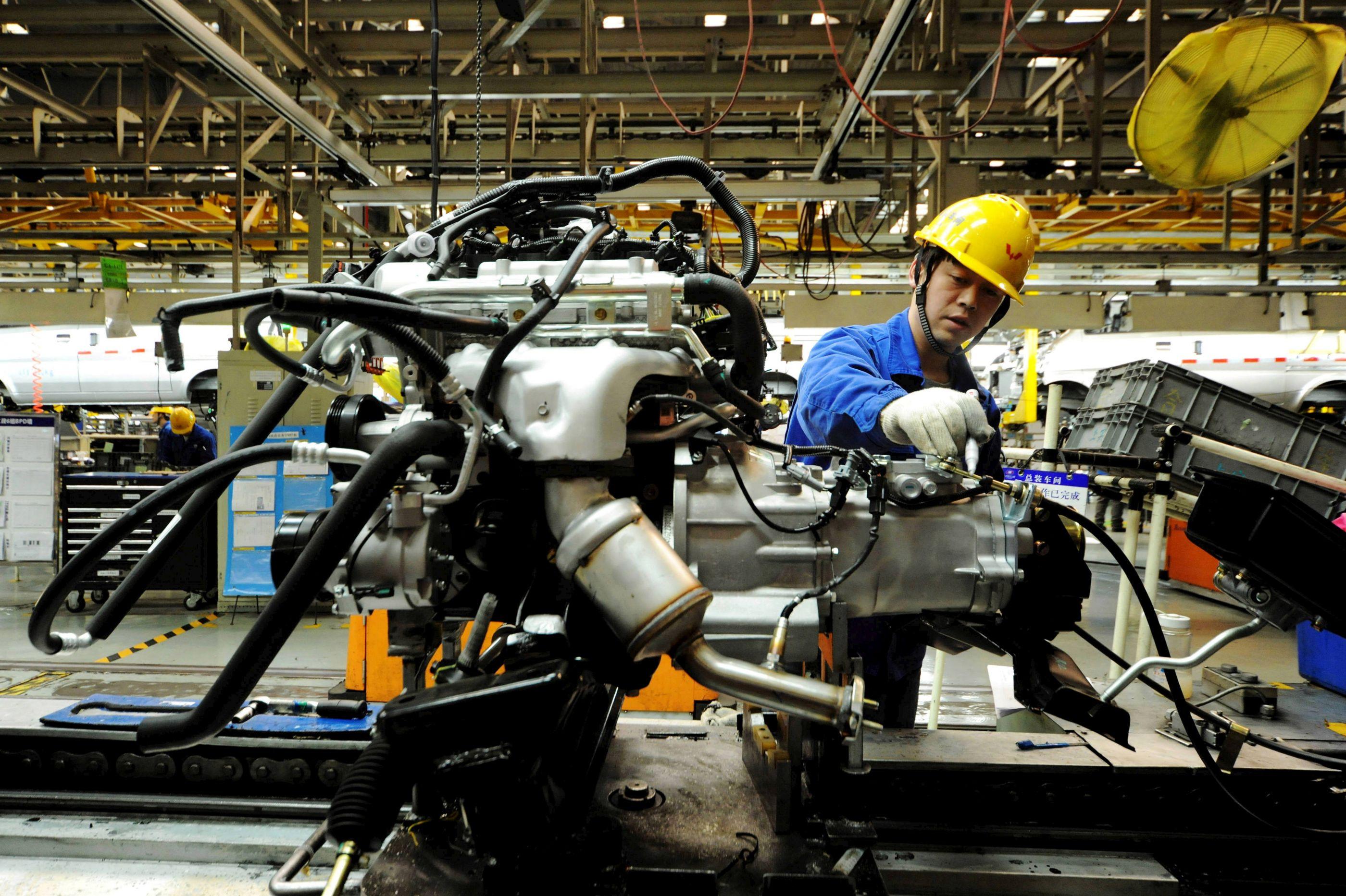 Indústria chinesa abrandou em 2018, mas os lucros aumentaram 10,3%