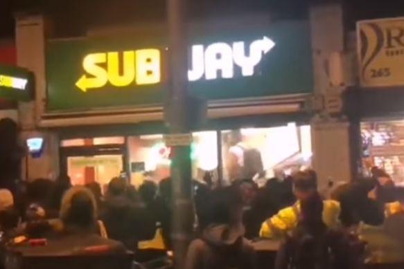 Subway vive momento de caos após anúncio de oferta de comida