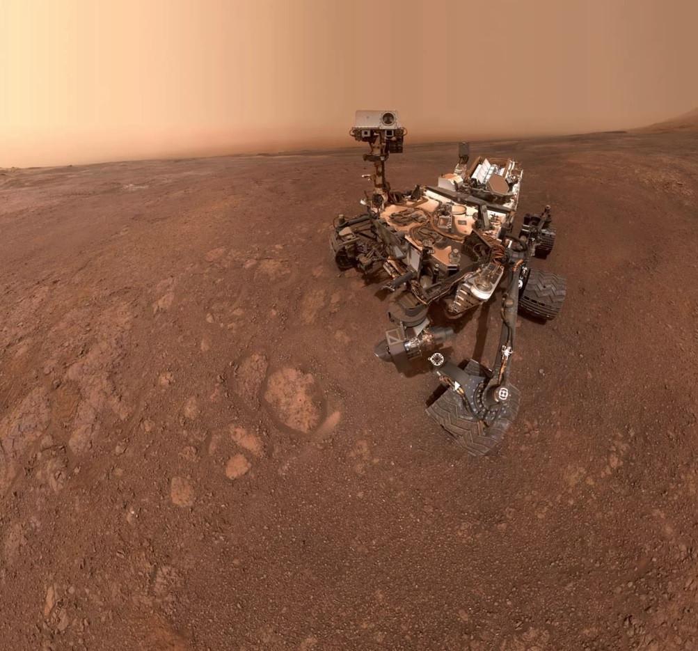 Antes de uma nova aventura, sonda em Marte captou uma nova selfie