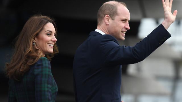 Esta semana William e Kate Middleton não têm 'nada' para fazer. Porquê?