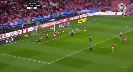 Félix foi ao primeiro andar inaugurar o marcador no Benfica-Boavista