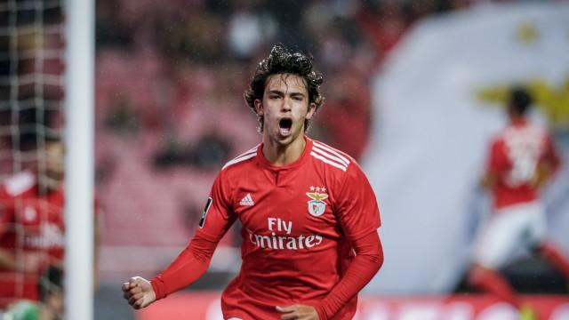 João Félix e mais quatro portugueses na equipa da semana da Liga Europa