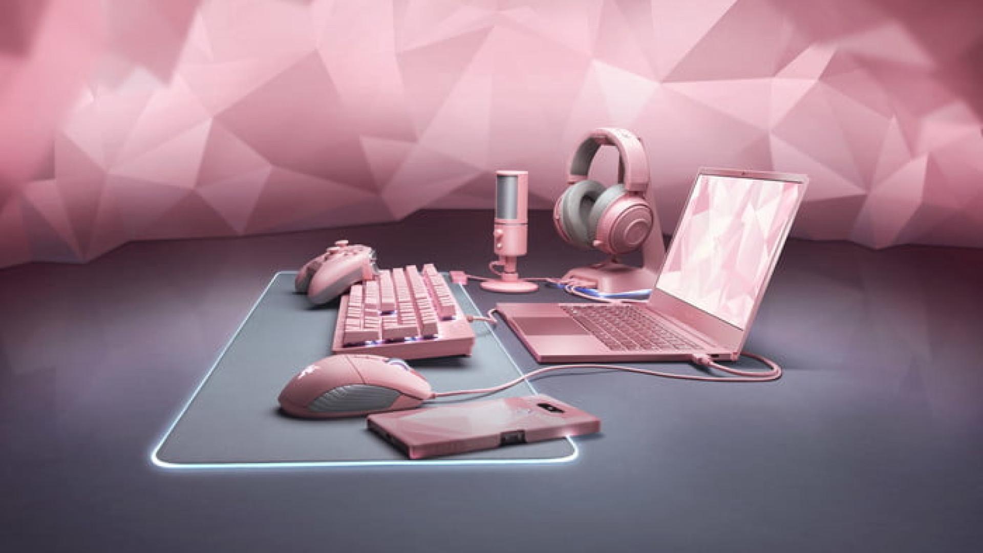 0d5b40e912a Razer desvenda novos produtos pensados para casais de  gamers