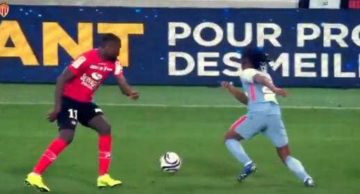 Gelson estreou-se pelo AS Monaco e fez esta 'maldade' ao adversário