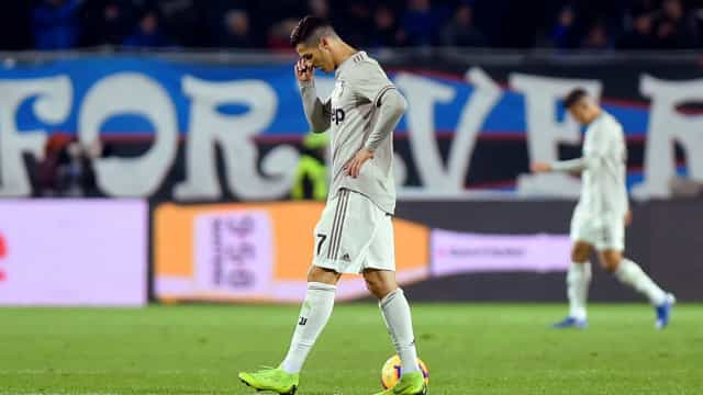 Surpresa na Taça: Nem Ronaldo evitou o descalabro da Juventus