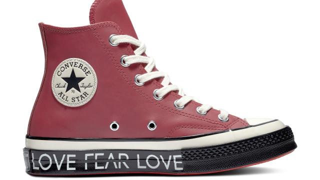 Converse celebra o Dia de São Valentim com umas adoráveis Chuck