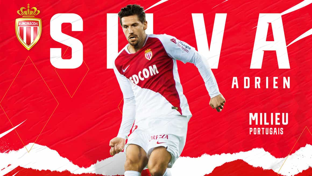 Oficial: Adrien Silva é reforço para Leonardo Jardim no Monaco