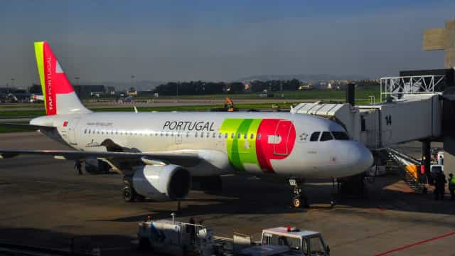 Avião da TAP aterrou de emergência no aeroporto de Lisboa