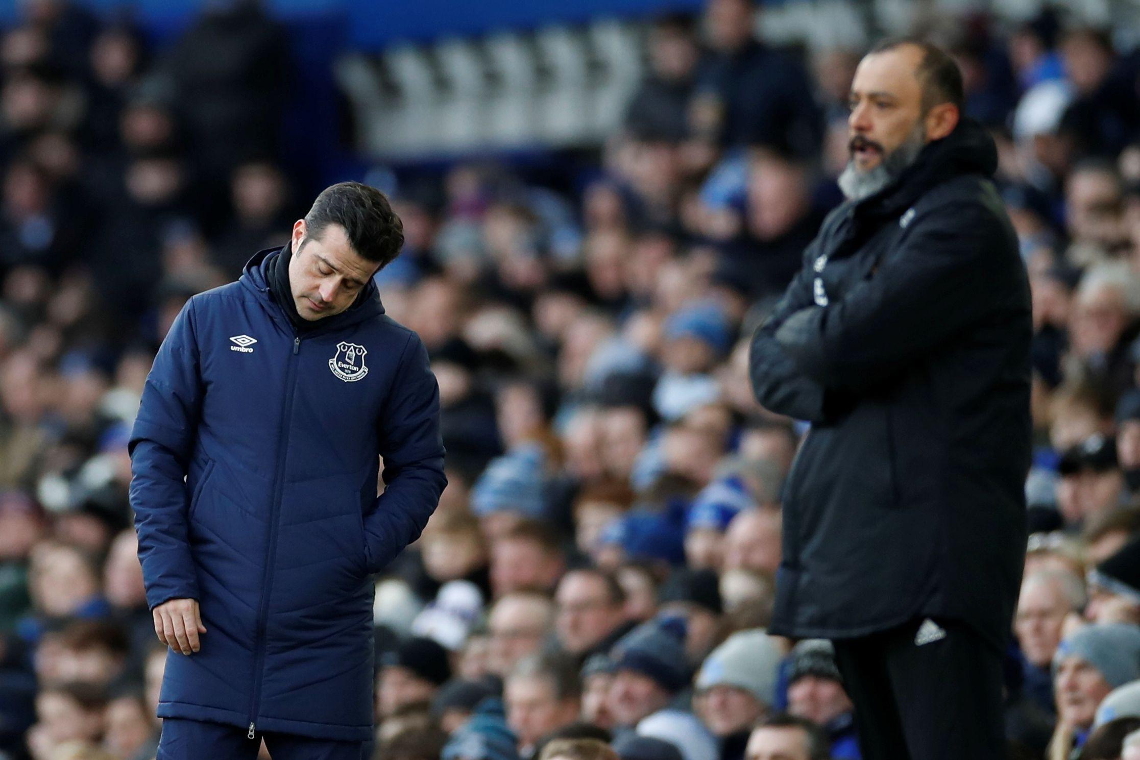 O azar não larga Marco Silva. Nova derrota do Everton frente ao Wolves