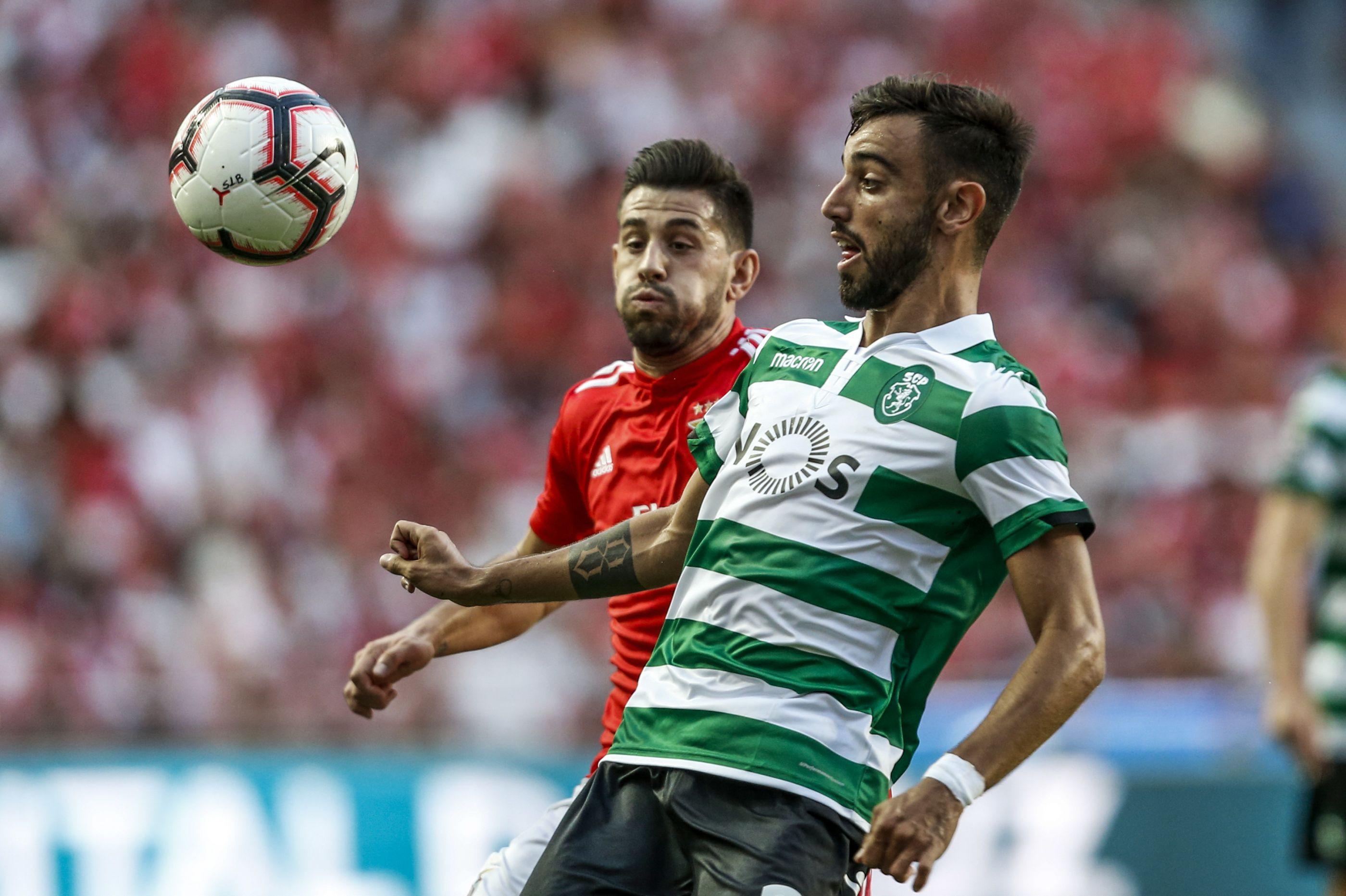 Lesão coloca em risco a presença de Bruno Fernandes no dérbi
