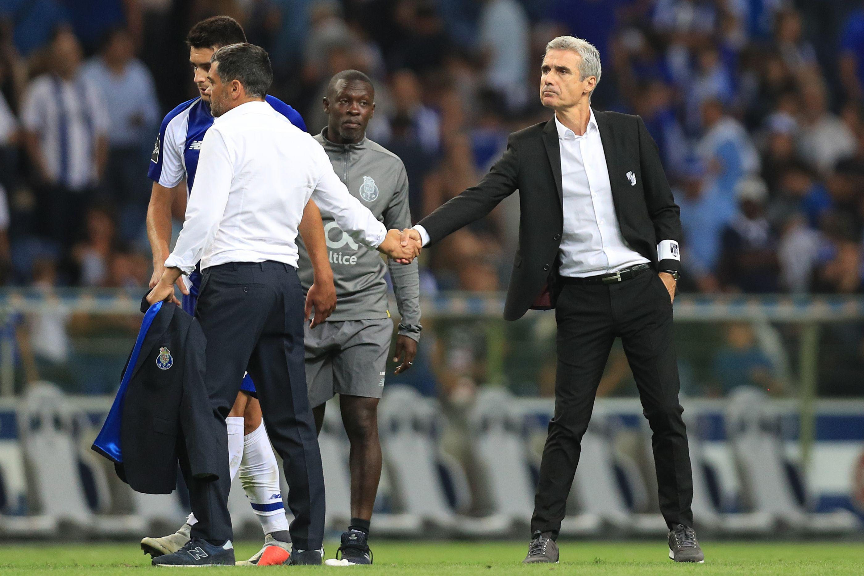 Vitória SC-FC Porto: Desforra das antigas...? Com olho no dérbi