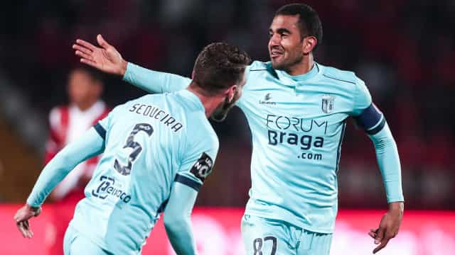 Sporting-Benfica ainda mais tenso: Triunfo do Sp. Braga aperta rivais