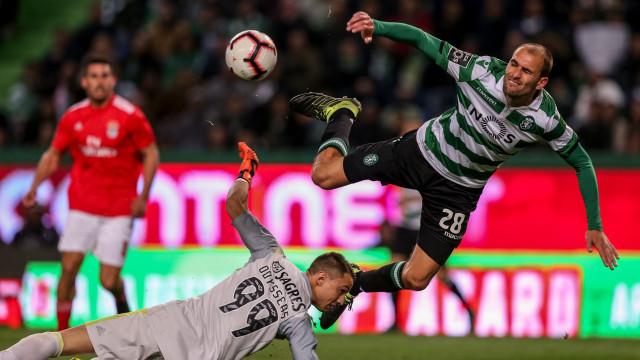 Sporting-Benfica: As imagens que não passaram na televisão