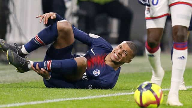 PSG perde sem Neymar e Mbappé recorda... CR7 e Messi