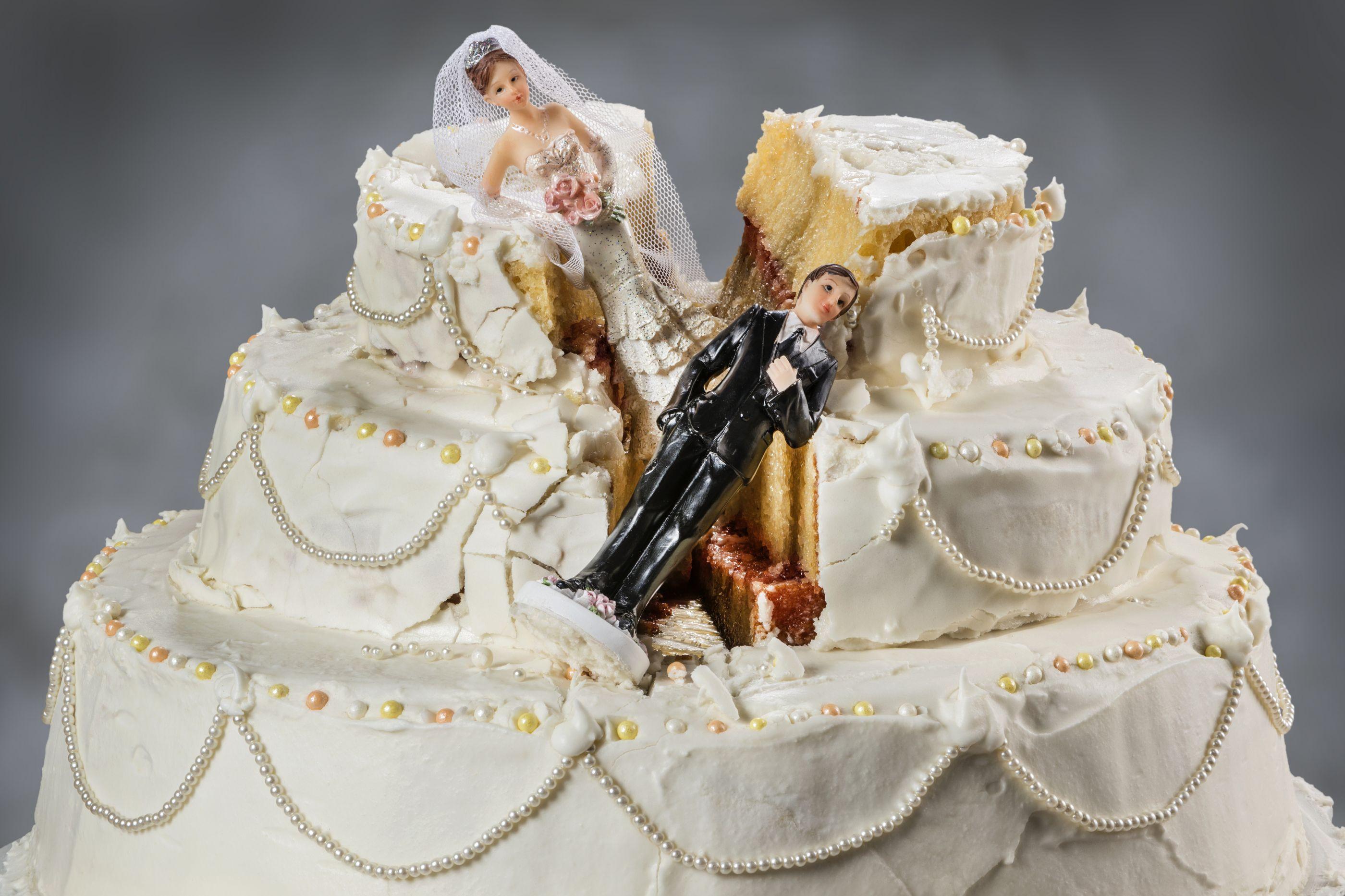 Ponto final. Esta é a idade mais comum para o divórcio