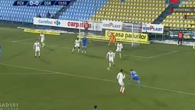 Ricardo Miranda marca golaço na Roménia com 'tiro' indefensável