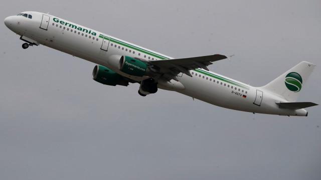 Germania Airlines anuncia falência e cancelamento de todos os voos