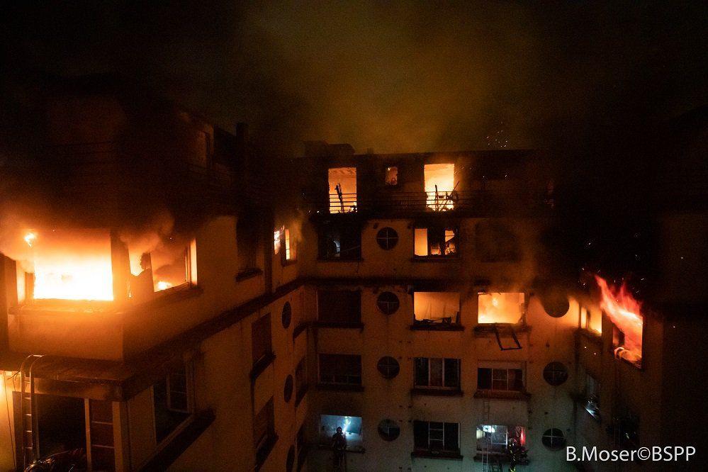 Incêndio em Paris: Número de mortos sobe para dez. Uma mulher foi detida