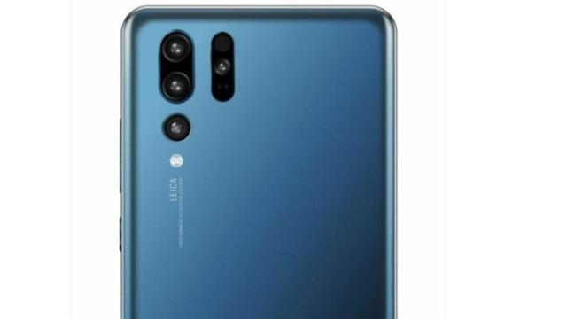 Será esta a primeira imagem do próximo topo de gama da Huawei?