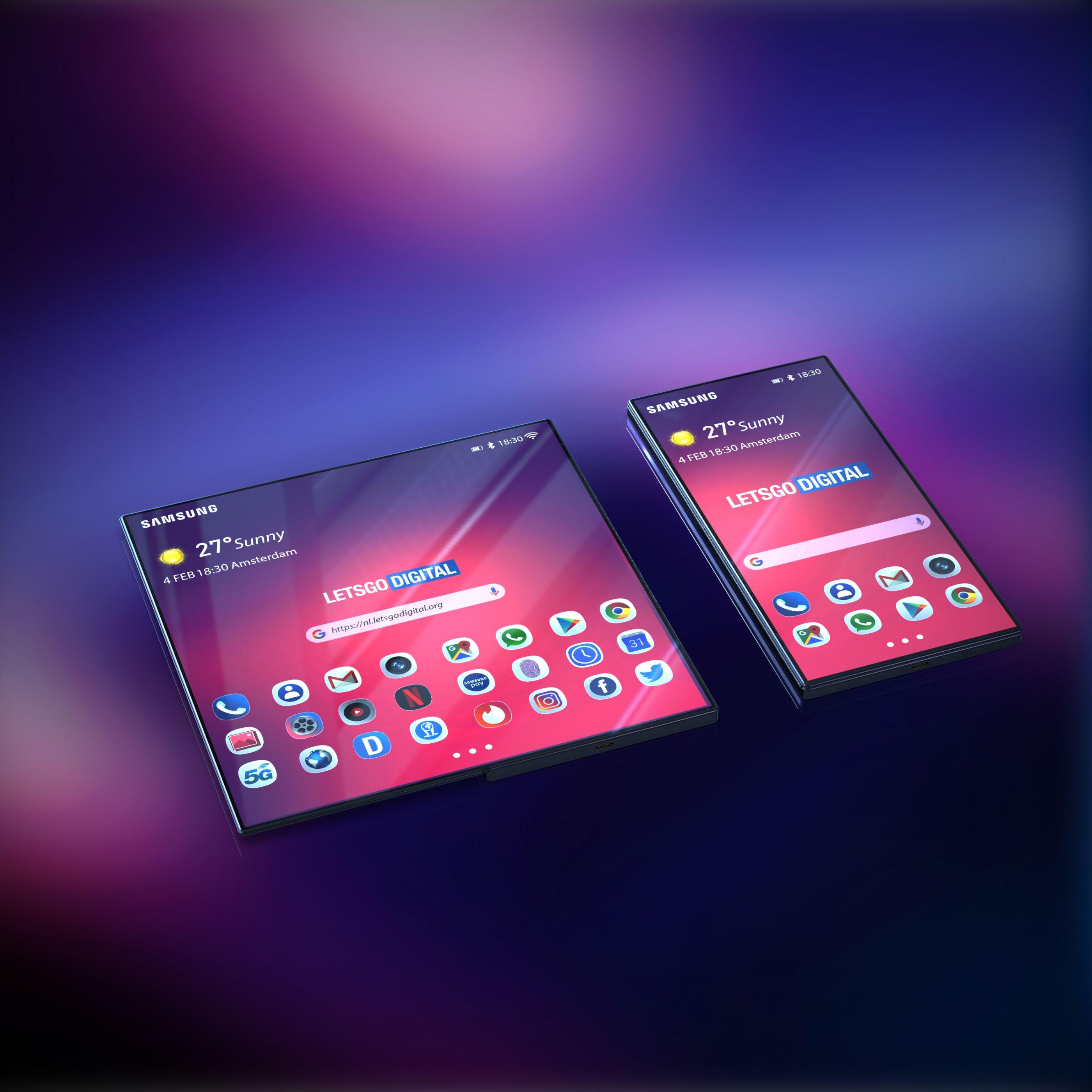 'Concept' faz sonhar com o smartphone dobrável da Samsung
