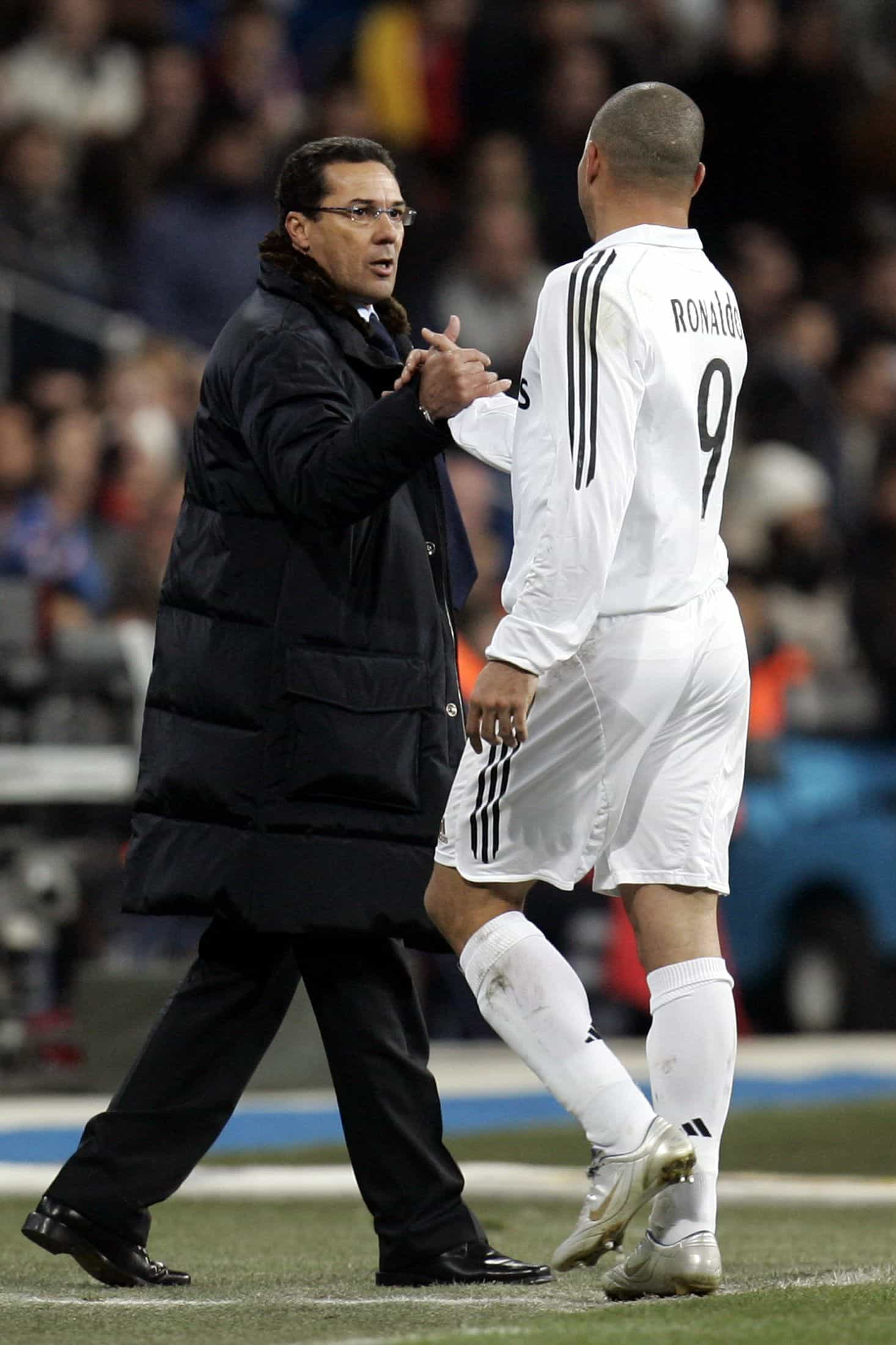 """""""Substituí Ronaldo e Florentino Pérez disse-me: 'Aqui não se faz isso'"""""""