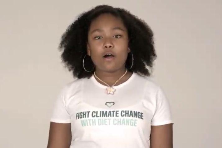 Menina de 12 anos lança desafio ao Papa: Ser vegan durante a Quaresma
