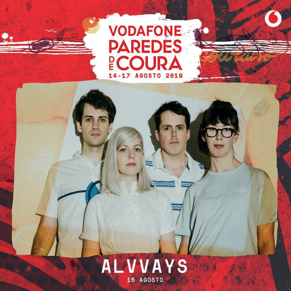 Alvvays confirmados no Vodafone Paredes de Coura