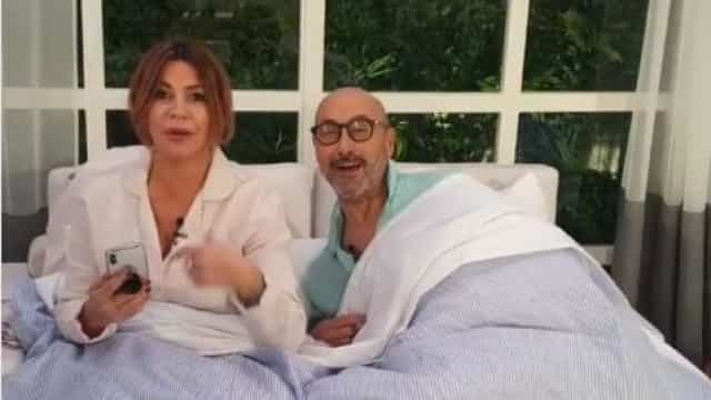 Hilariante: Marido de Goucha e Sílvia Rizzo 'apanhados' na cama