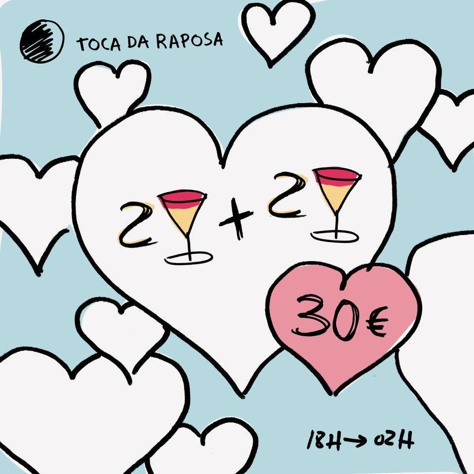 Namorar 'toca' a todos! Dia 14 há amor a dobrar na Toca da Raposa