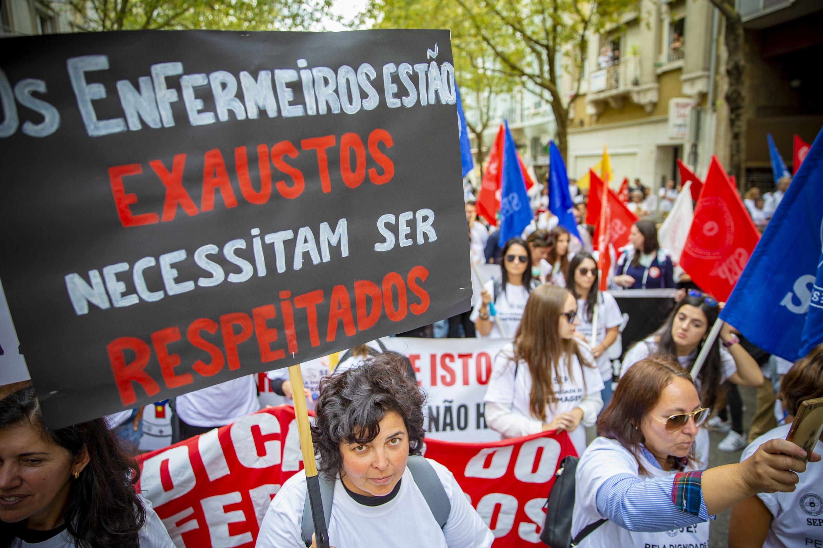 Enfermeiros: Sindicato exige negociação sobre carreira e progressões