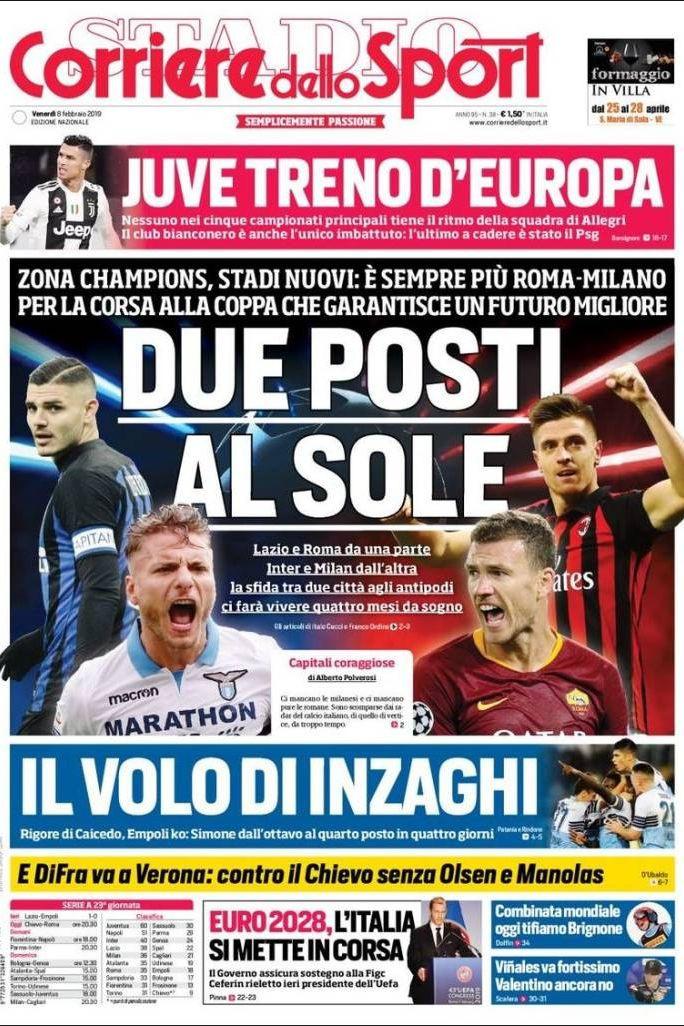 Lá por fora: Uma Juve imbatível e o regresso de Mourinho a Itália