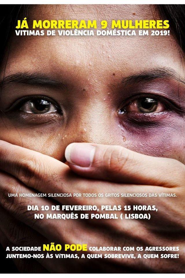 Lisboa vai marchar em silêncio pelas vítimas da violência doméstica
