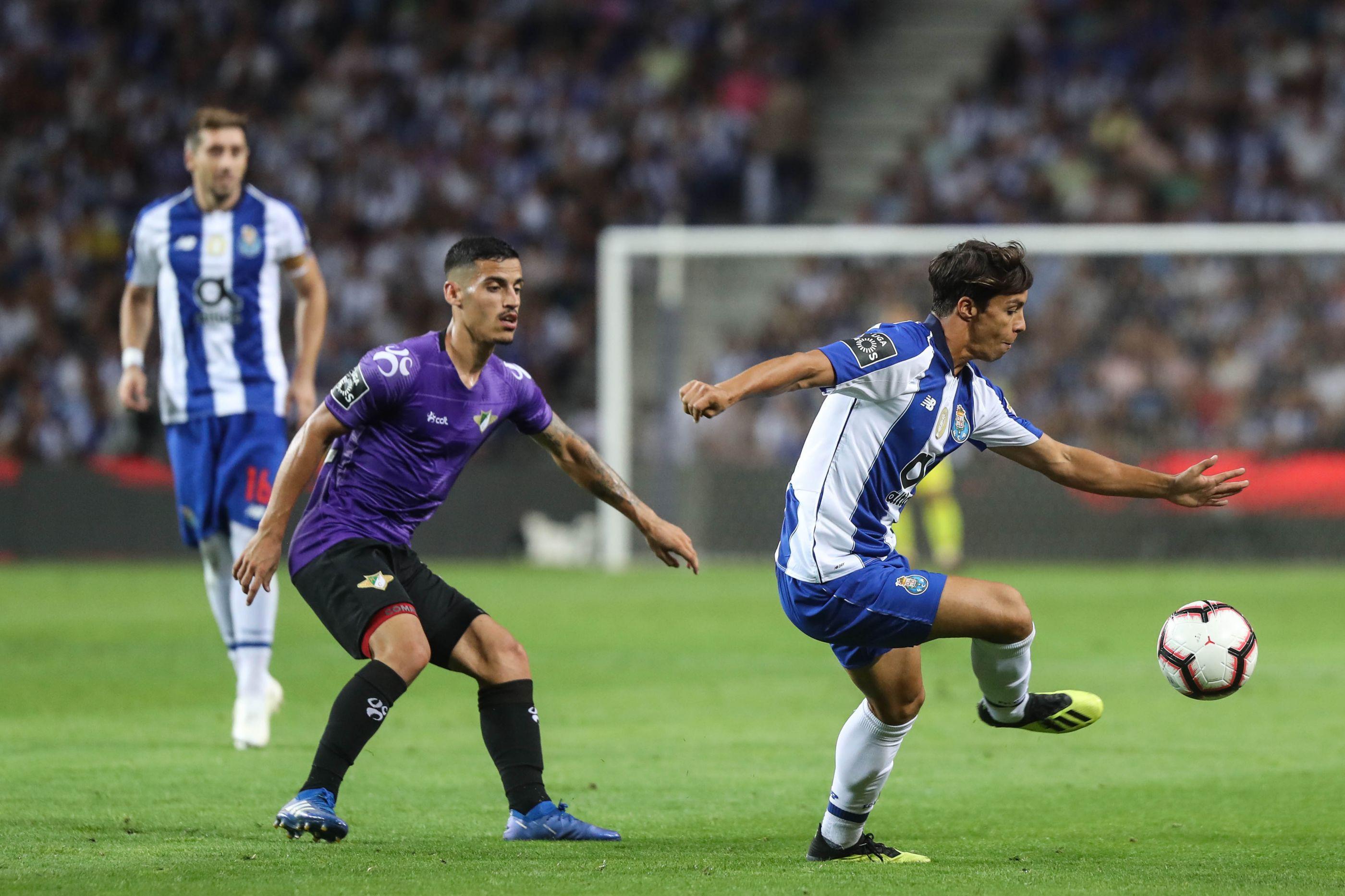 [0-0] Moreirense-FC Porto: Jogo animado em Moreira de Cónegos