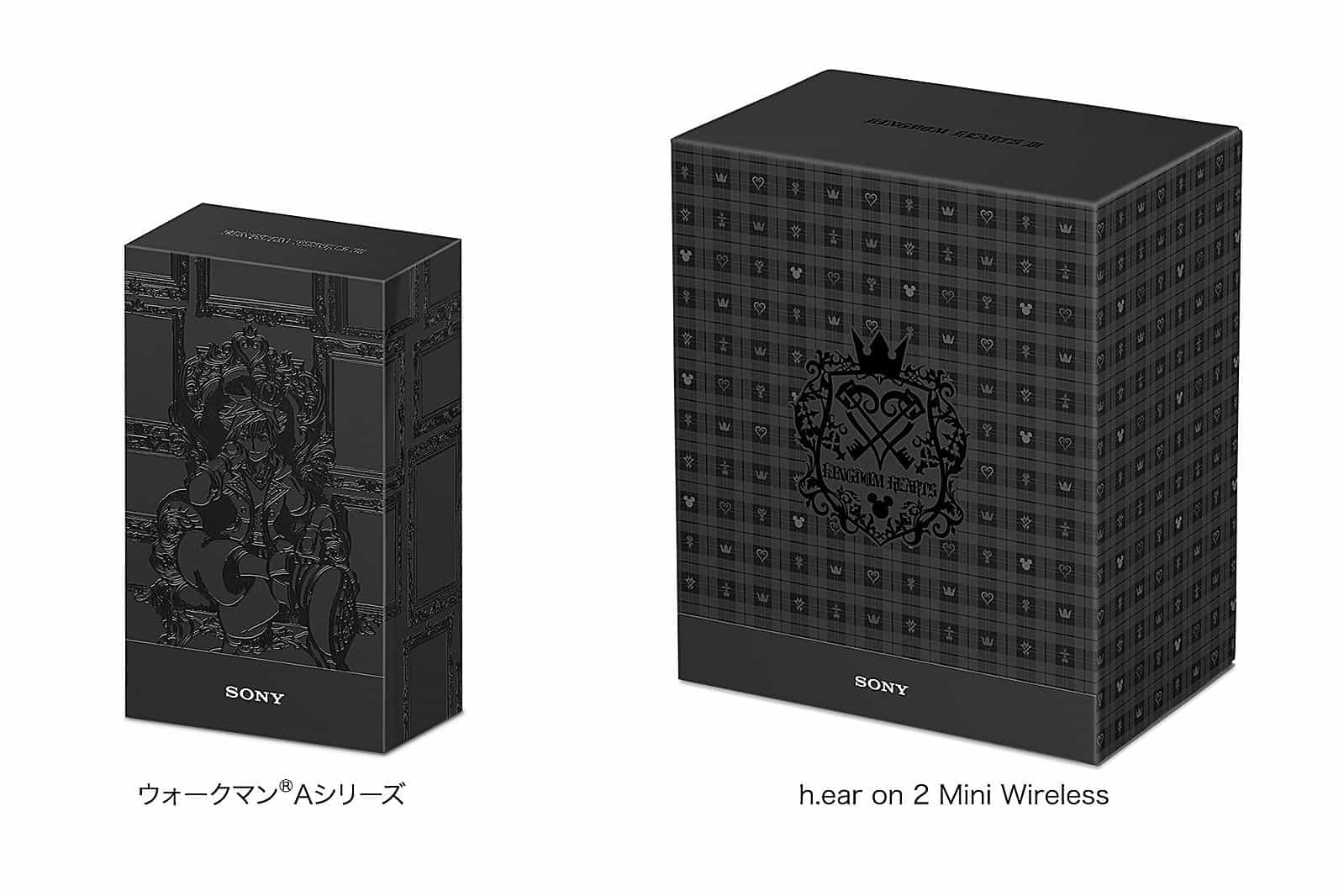 Sony comemora 'Kingdom Hearts III' com Walkman e headphones especiais