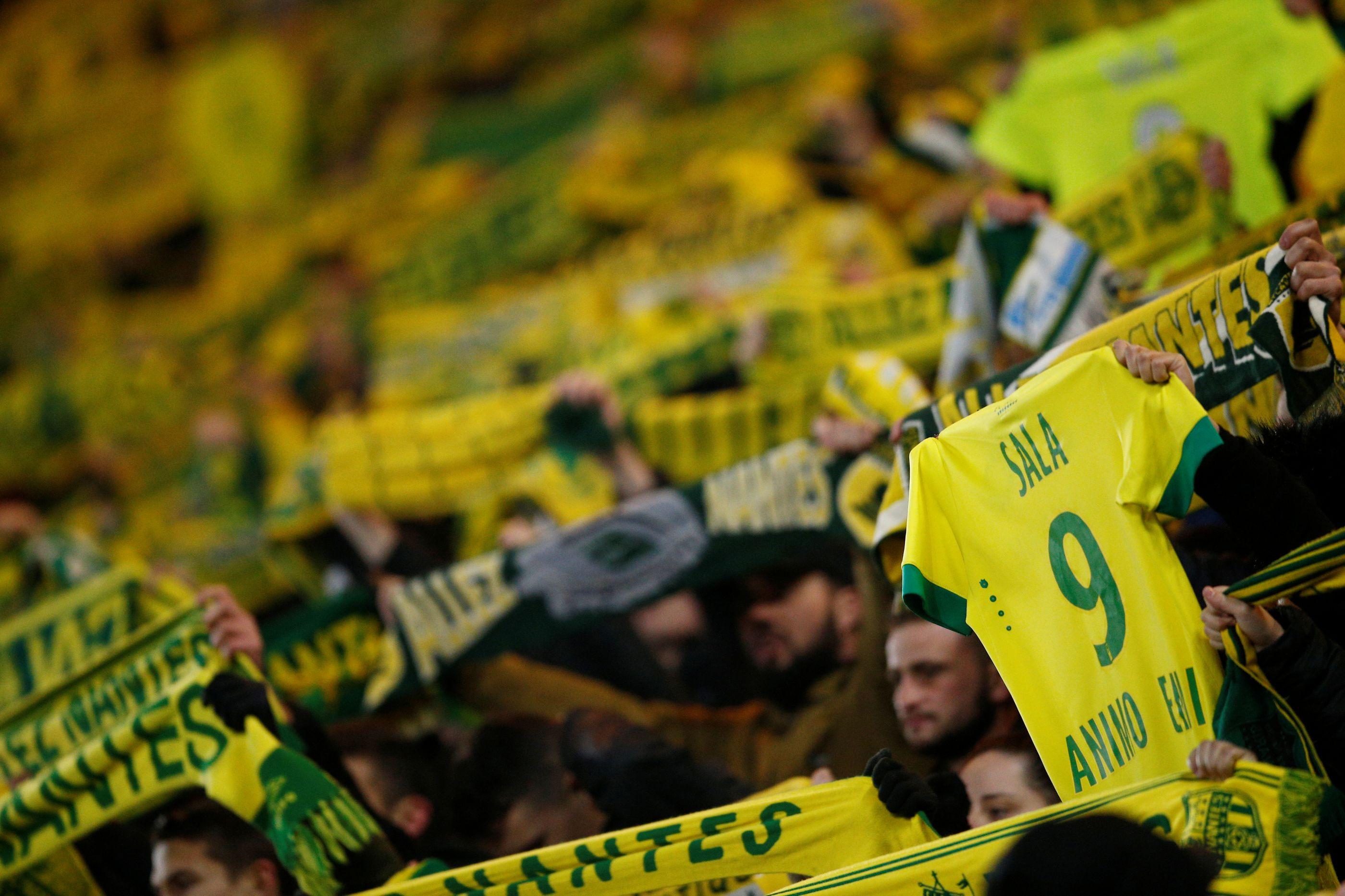 Nantes estipula preço especial para o próximo jogo em homenagem a Sala