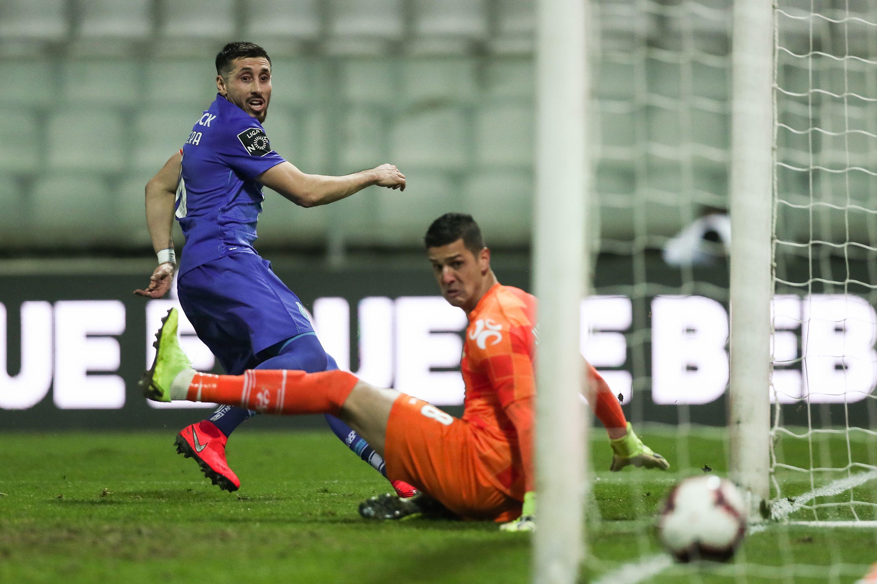 Herrera evita derrota em Moreira de Cónegos com golo nos descontos