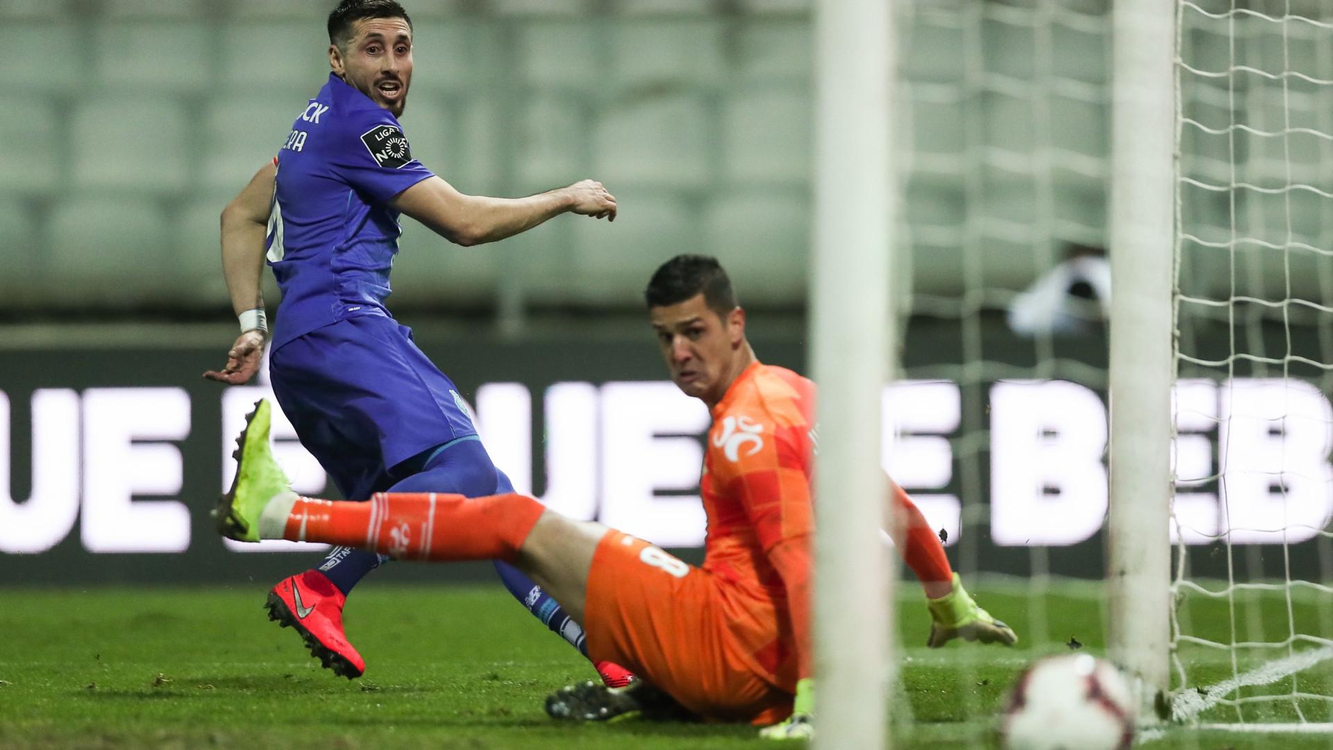 4a6736f2118ac Herrera evita derrota em Moreira de Cónegos com golo nos descontos