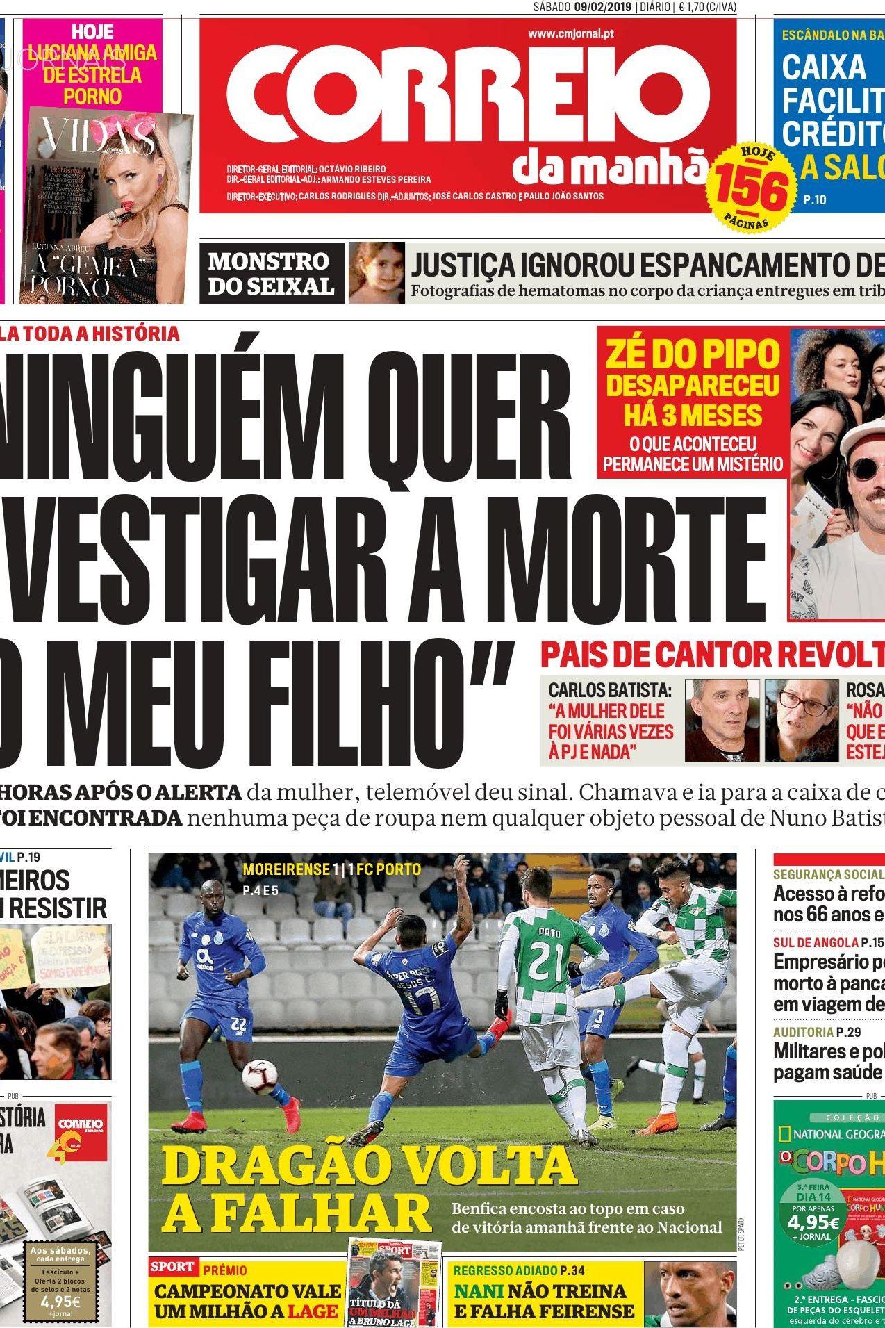 Hoje é notícia: Onde está Zé do Pipo?; Greve convocada por WhatsApp