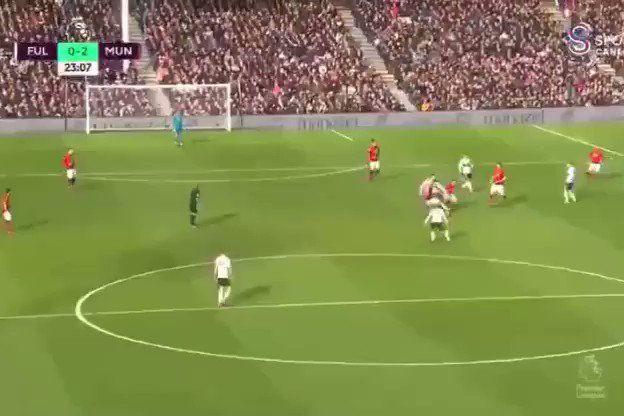 Martial levou defesa do Fulham e marcou após jogada magistral
