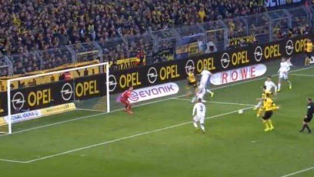 Raphael Guerreiro marca após jogada fantástica do Dortmund