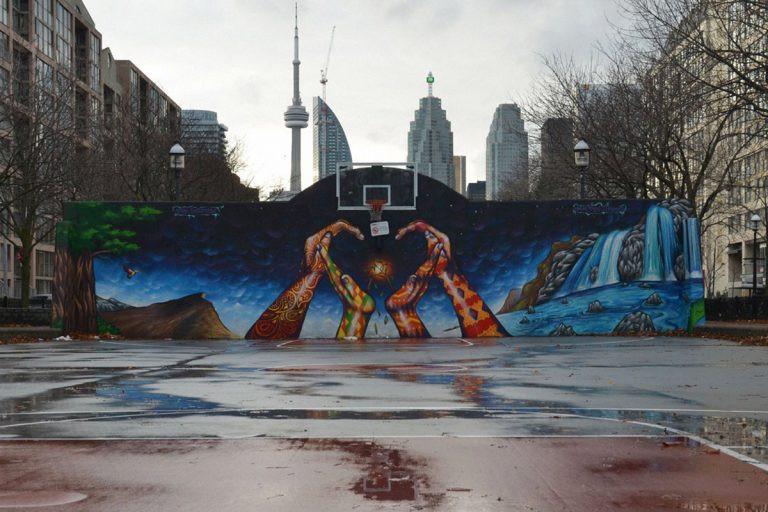 Os 10 campos de basquetebol mais espetaculares do mundo